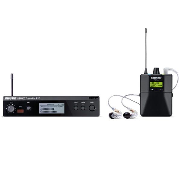 Система персонального мониторинга Shure P3TERA215CL M16 eu standard 2 foot plug mini power adapter