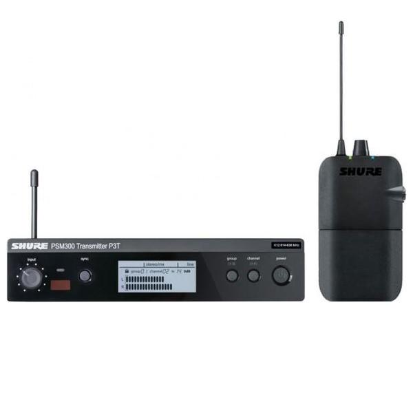 Система персонального мониторинга Shure P3TERA M16 shure mx150b o tqg