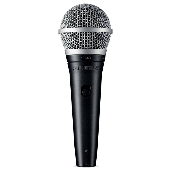 Вокальный микрофон Shure PGA48-XLR-E вокальный микрофон shure super 55 deluxe pitch black edition