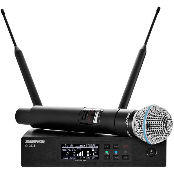 Радиосистема Shure QLXD24E/B58 P51 shure ulxd1 p51 bodypack transmitter