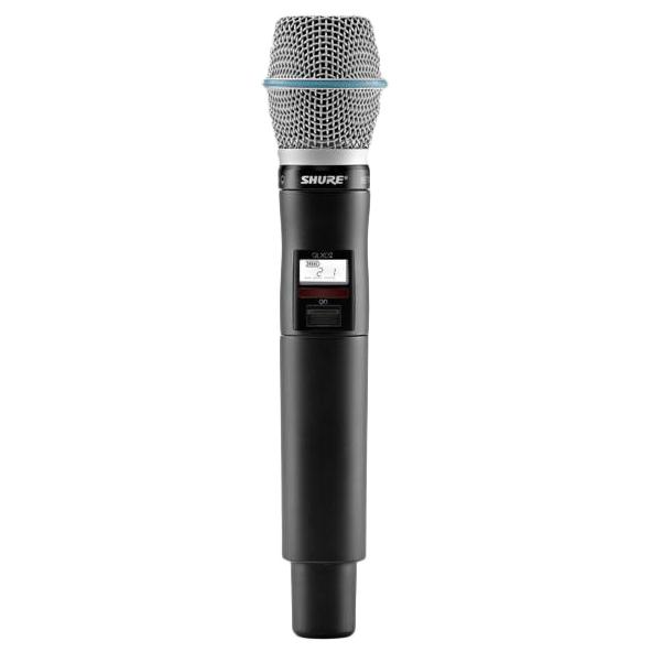 Передатчик для радиосистемы Shure QLXD2/B87A K51 держатель для микрофона shure afp 522