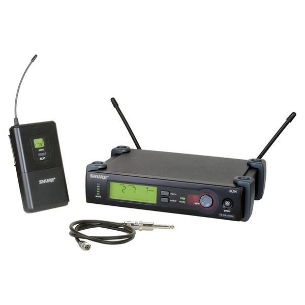 Радиосистема Shure SLX14E P4 shure cvb w o