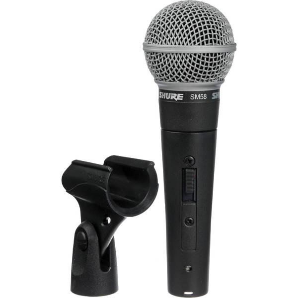 Вокальный микрофон Shure SM58S shure cvb w o