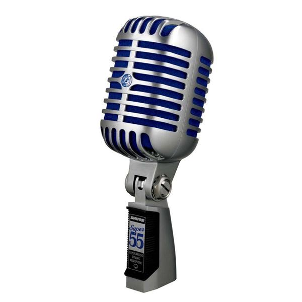 Вокальный микрофон Shure Super 55 Deluxe динамический микрофон philips sbcmd150