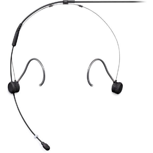 Головной микрофон Shure TH53B/O-MTQG Black