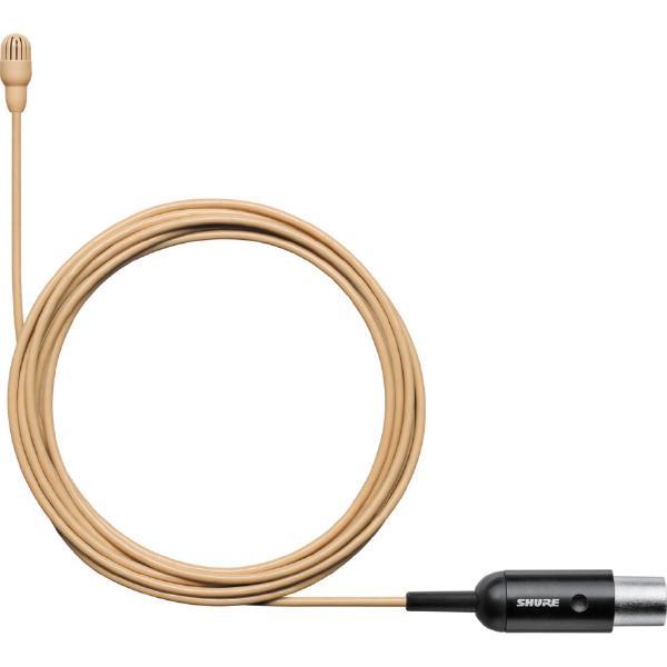 Петличный микрофон Shure TL47T/O-MTQG-A Tan