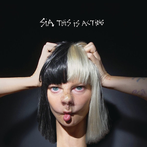 SIA SIA - This Is Acting (2 LP) galaxy yinhe emery paper racket ep 150 sandpaper table tennis paddle long shakehand st