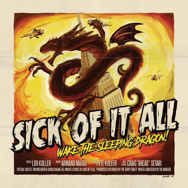 Sick Of It All Sick Of It All - Wake The Sleeping Dragon! (lp+cd) виниловая пластинка sick of it all when the smoke clears cd box set