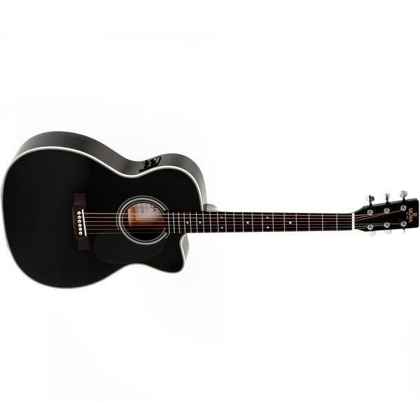 Гитара электроакустическая Sigma Guitars 000MC-1E Black