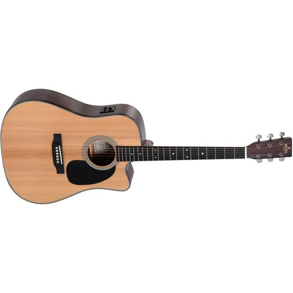 Гитара электроакустическая Sigma Guitars DMC-1E Natural