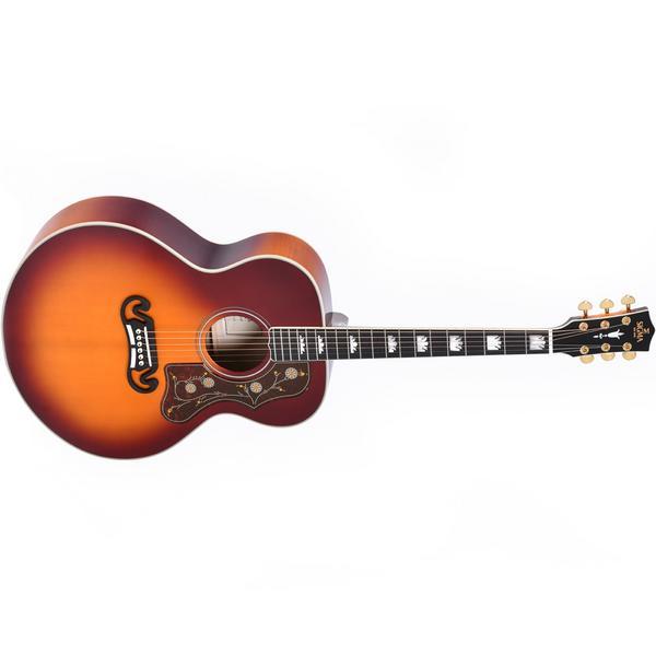 Гитара электроакустическая Sigma Guitars SGJA-SG200 Autumn Burst