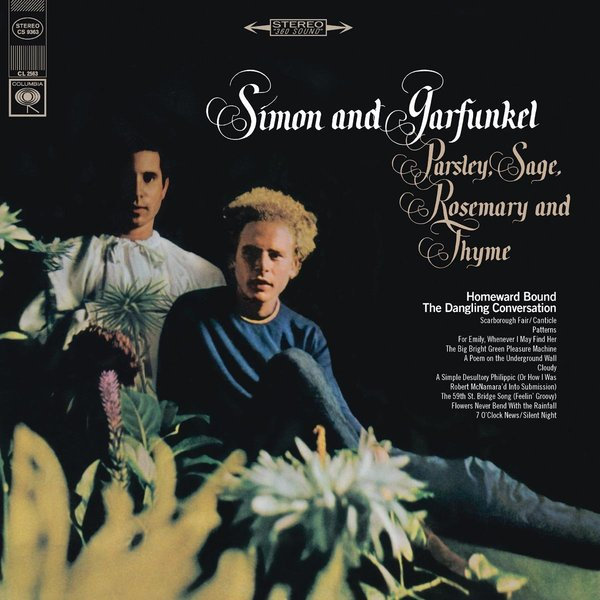 Simon Garfunkel Simon Garfunkel - Parsley, Sage, Rosemary And Thyme thyme out