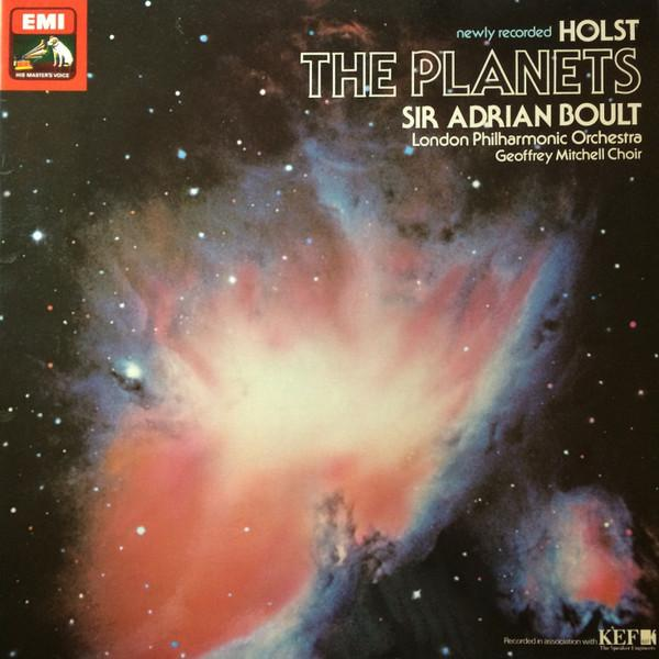 Sir Adrian Boult - Holst: The Planets (180 Gr)