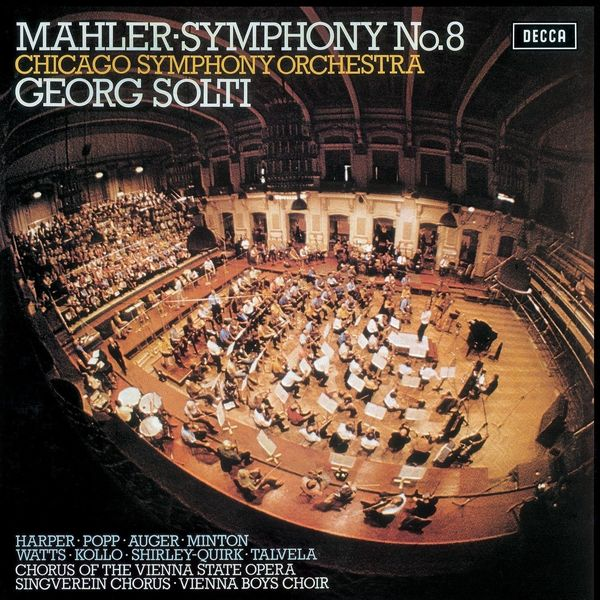 Mahler Mahler - Symphony No.8 (2 LP) тромбоун шорти trombone shorty parking lot symphony lp