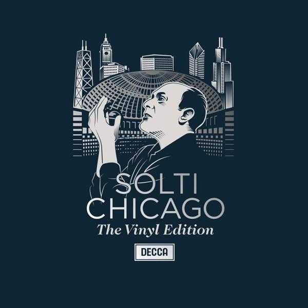 Sir Georg Solti Sir Georg Solti - The Chicago Years (6 LP) sir georg solti mozart die zauberflote 2 dvd