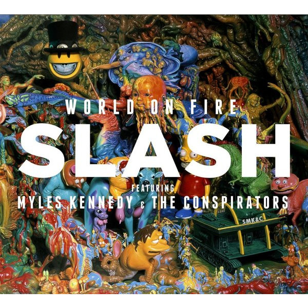 SLASH SLASH - World On Fire (2 LP)