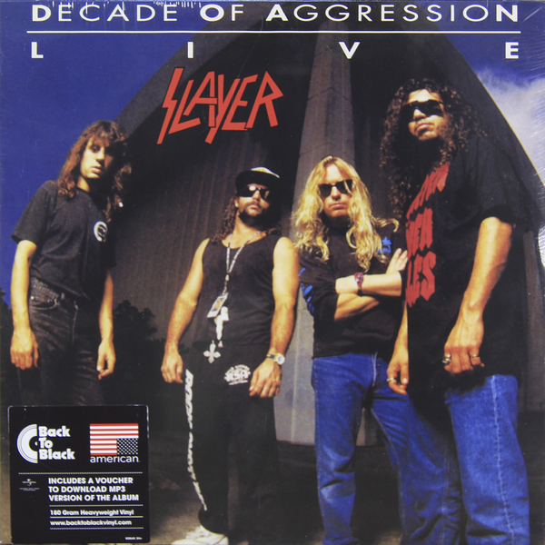 Slayer Slayer - Live: Decade Of Aggression (2 Lp, 180 Gr) guano apes guano apes proud like a god 180 gr colour