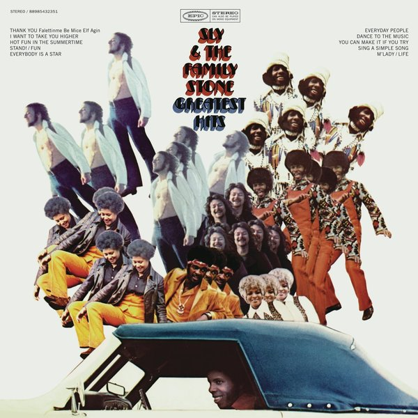Sly The Family Stone Sly The Family Stone - Greatest Hits remove the stone