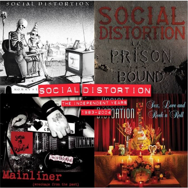 Social Distortion Social Distortion - Independent Years (4 LP) social distortion social distortion somewhere between heaven and hell lp
