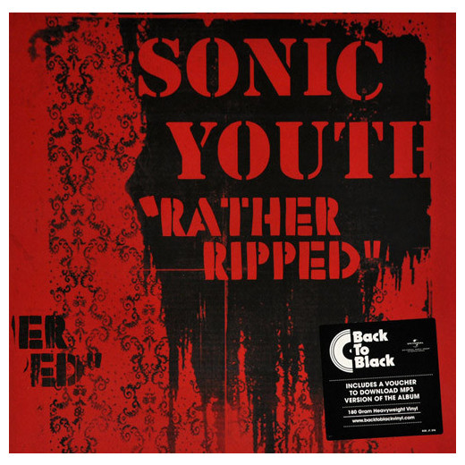Sonic Youth Sonic Youth - Rather Ripped asymmetrical ripped leggings