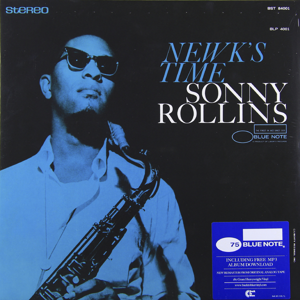 Sonny Rollins Sonny Rollins - Newk's Time (180 Gr) виниловая пластинка sonny rollins saxophone colossus mono version