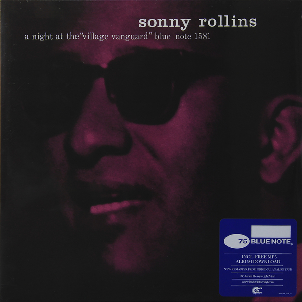Sonny Rollins Sonny Rollins - A Night At The Village Vanguard (180 Gr) sonny bono ремень