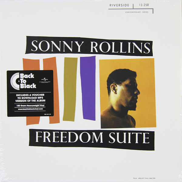 Sonny Rollins Sonny Rollins - Freedom Suite (180 Gr) сонни роллинз wilbur ware элвин джонс sonny rollins a night at the village vanguard lp