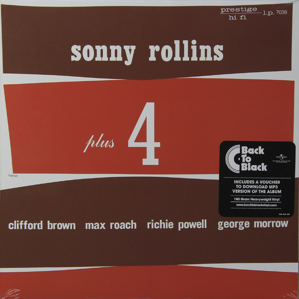 Sonny Rollins Sonny Rollins - Plus Four (180 Gr) сонни роллинз wilbur ware элвин джонс sonny rollins a night at the village vanguard lp