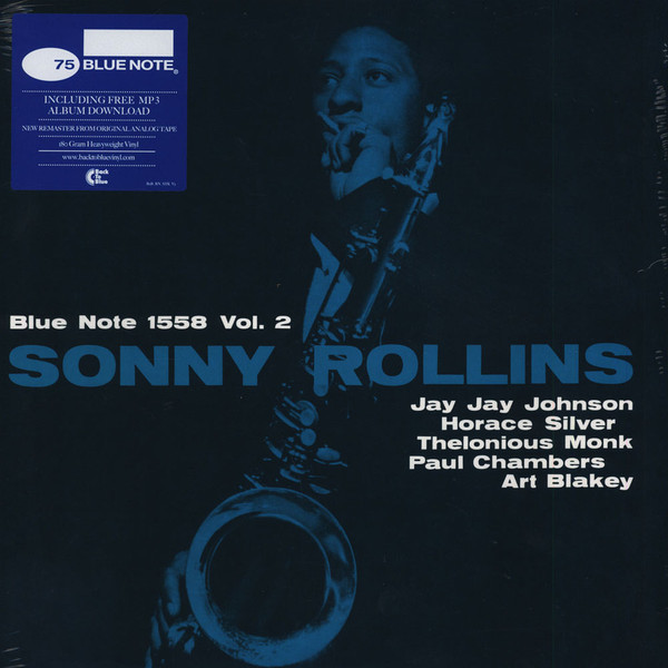 Sonny Rollins Sonny Rollins - Volume 2 сонни роллинз wilbur ware элвин джонс sonny rollins a night at the village vanguard lp