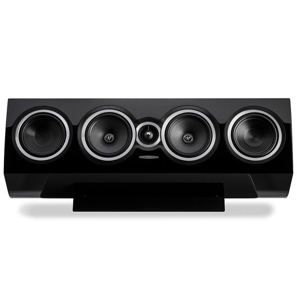 Центральный громкоговоритель Sonus Faber Sonetto Center II Black центральный громкоговоритель legacy audio harmony hd center black pearl