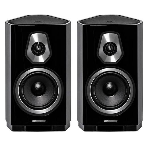 Полочная акустика Sonus Faber Sonetto II Black sonus faber venere s black