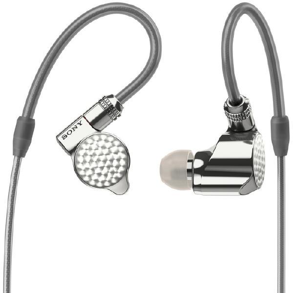 Фото - Внутриканальные наушники Sony IER-Z1R Silver внутриканальные наушники sony ier m7 black