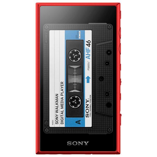 Портативный Hi-Fi плеер Sony NW-A105 Red портативный hi fi плеер sony nw wm1z gold