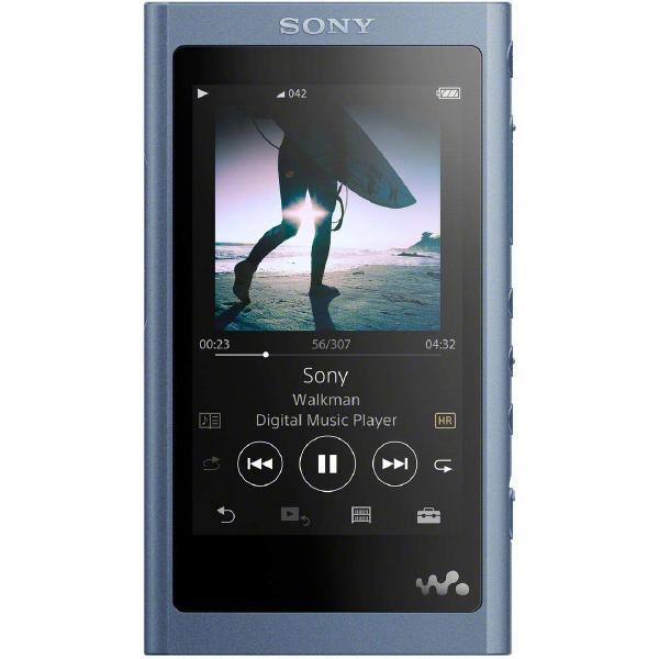 Портативный Hi-Fi плеер Sony NW-A55 Blue портативный hi fi плеер sony nw wm1z gold