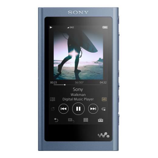 Портативный Hi-Fi плеер Sony NW-A55HN Blue портативный hi fi плеер sony nw wm1z gold