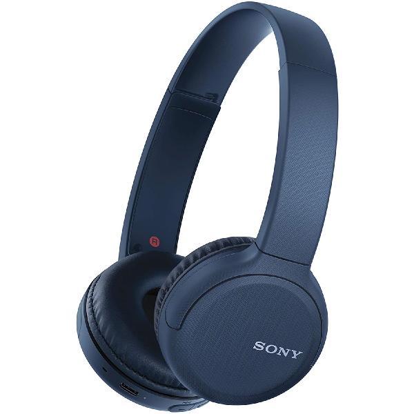Фото - Беспроводные наушники Sony WH-CH510 Blue наушники sony wi sp510 blue