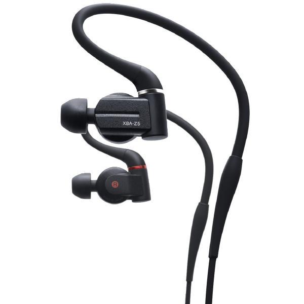 Фото - Внутриканальные наушники Sony XBA-Z5 Black внутриканальные наушники sony ier m7 black