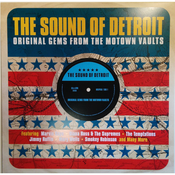 Various Artists Various Artists - Sound Of Detroit (original Gems From The Motown Vaults) various artists various artists the beat of brazil brazilian grooves from the warner vaults 2 lp