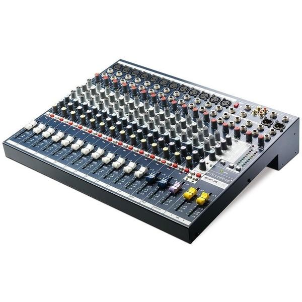 Аналоговый микшерный пульт Soundcraft EFX12 микшерный пульт soundcraft