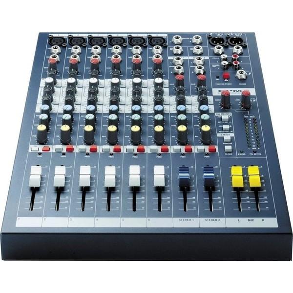 Аналоговый микшерный пульт Soundcraft EPM6 микшерный пульт soundcraft