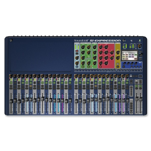 Цифровой микшерный пульт Soundcraft Si Expression 3 цифровой микшерный пульт soundcraft si expression 1