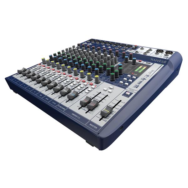 Аналоговый микшерный пульт Soundcraft Signature 12 процессор эффектов lexicon mx200