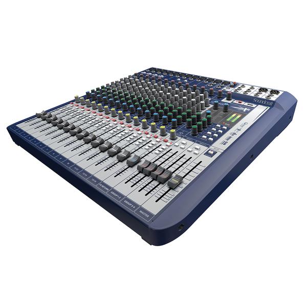 Аналоговый микшерный пульт Soundcraft Signature 16 процессор эффектов lexicon mx200
