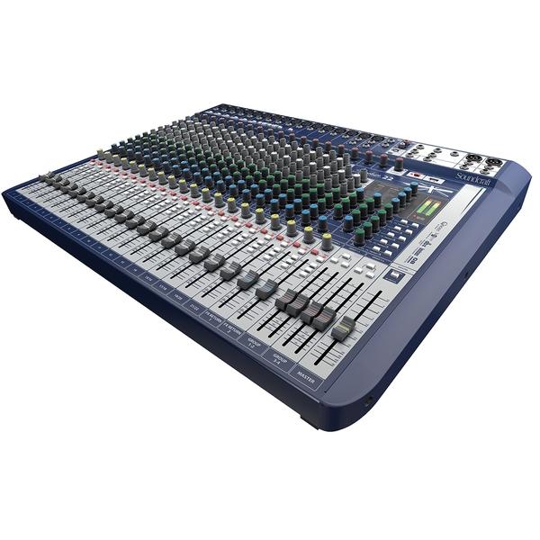 Аналоговый микшерный пульт Soundcraft Signature 22 аналоговый микшерный пульт soundcraft signature 12mtk