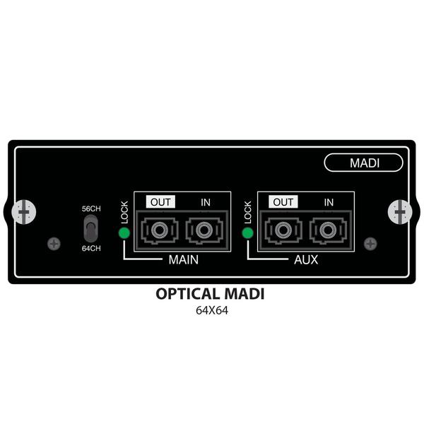 Плата расширения Soundcraft SiO-MADI-MO плата расширения soundcraft sio usb firewire