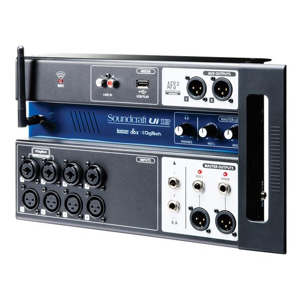 Цифровой микшерный пульт Soundcraft Ui-12 процессор эффектов lexicon mx200