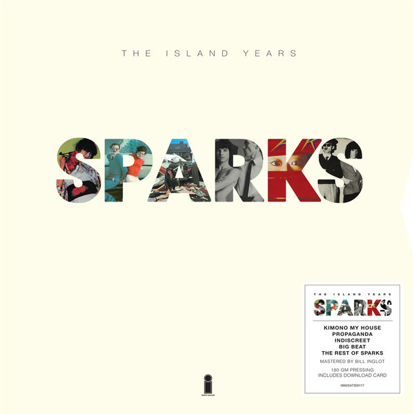 Sparks Sparks - The Island Years (5 Lp Box) sparks sparks propaganda