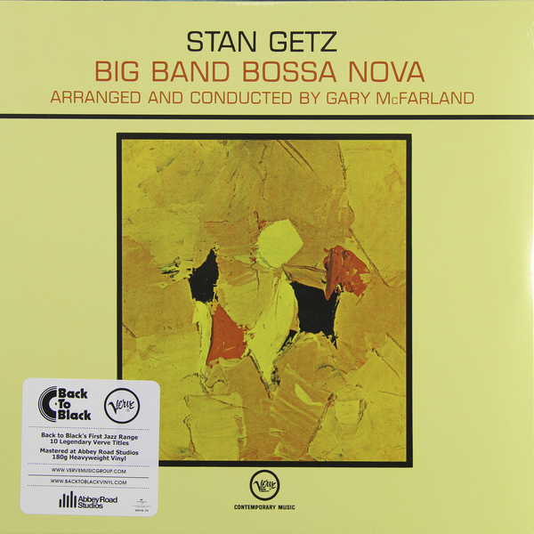 Stan Getz Stan Getz - Big Bang Bossa Nova (180 Gr) cd диск stan getz jimmy rowles the peacocks 1 cd
