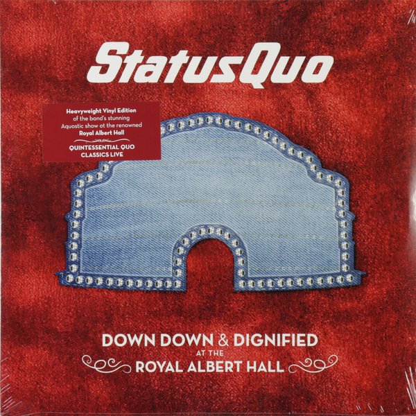 Status Quo Status Quo - Down Down Dignified At The Royal Albert Hall (2 LP) 2016 hot sale high quality practical table tool 18 sets repair kit watch set hours down the lower bottle opener belt