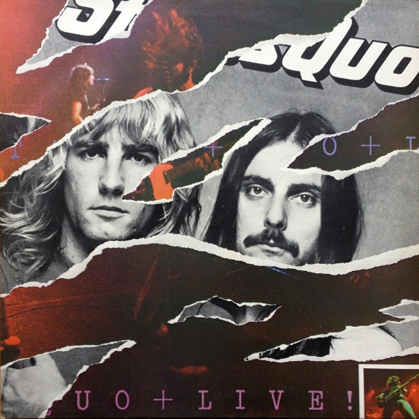 Status Quo Status Quo - Live (2 LP) status quo just doin it live in concert
